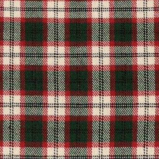 R09 Primo Plaid Flannels: Classic Tartans OU J377-115 Red