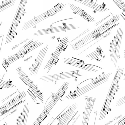 Jazz Music Sheets 374-White