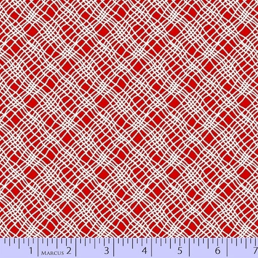 Jet Setter Wavy Plaid 5589-0161 Red