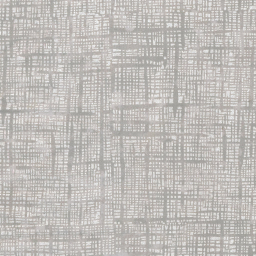 Pearl Grid L8089- 90 Fog (with Gold Metallic Accent)