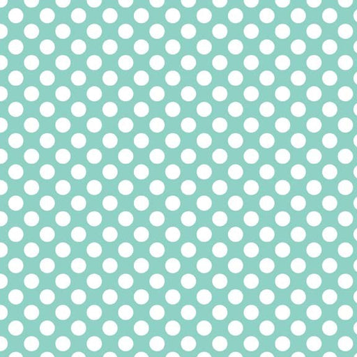 Little Matryoshka Dots C3313-Aqua