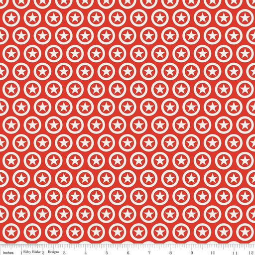 Lucky Star Circle C4831-Red