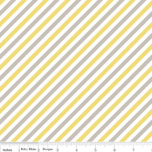 Oh Boy! Stripe F3304-Yellow
