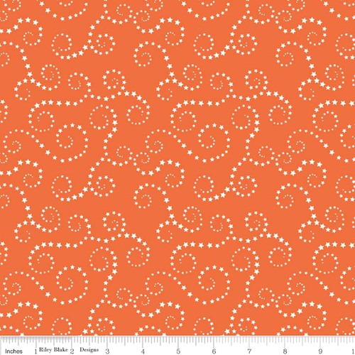 Oh Boy! Swirls C3302-Orange