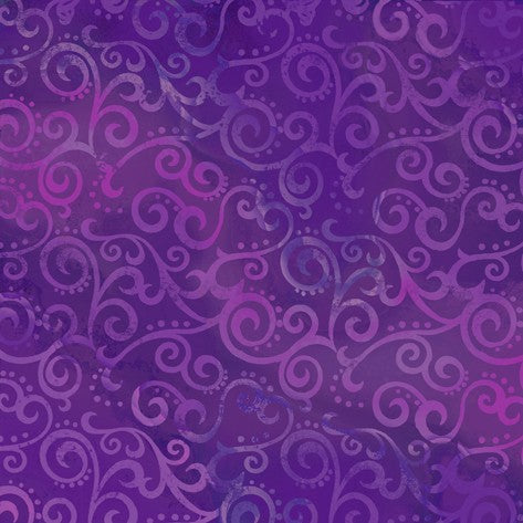 Ombré Scrolls 24174-V Grape