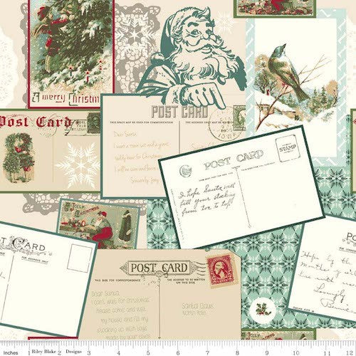 Postcards for Santa Main C4750-Green