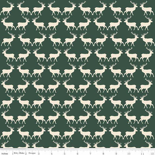 Postcards for Santa Deer C4753-Green