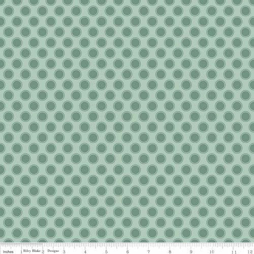 Postcards for Santa Dots C4754-Green