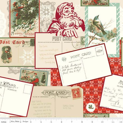 Postcards for Santa Main C4750-Red