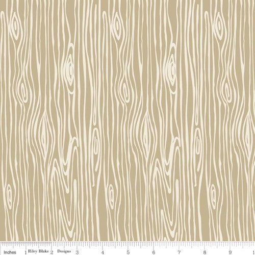 Scenic Route Wood Grain C3664-Tan