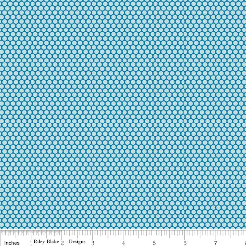 Scenic Route Dots C3665-Blue
