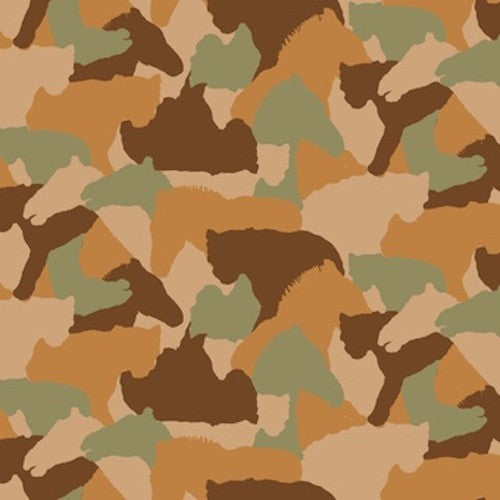 Serengeti Tree Camouflage 7327-35 Tan