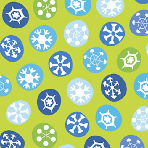 Silly Snowman Snowflakes Toss 23959-H Lime