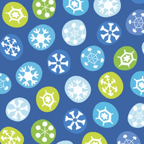 Silly Snowman Snowflakes Toss 23959-Y Royal