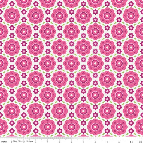 Summer Song 2 Floral C4622-Pink
