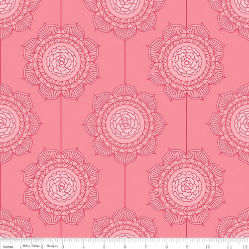 The Cottage Garden Wallpaper C4222-Pink