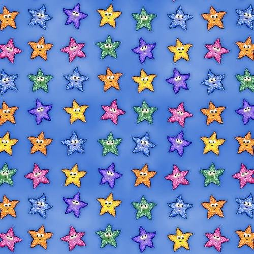 Undersea Jamboree Starfish 7073-Blue