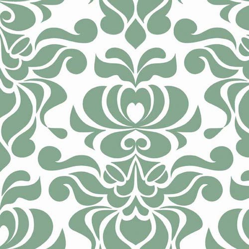 Valencia -Damask C3582-Green