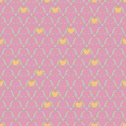 Zombie Love Heart C4961-Pink