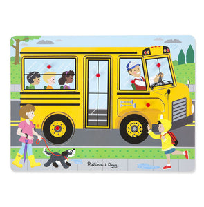 Melissa & Doug: The Wheels on the Bus Sound Puzzle