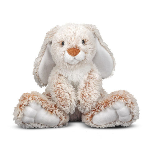 Melissa & Doug Burrow Bunny Rabbit Stuffed Animal