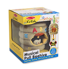 Melissa & Doug: Musical Pull Beehive Baby Toy