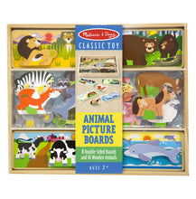 Melissa & Doug: Animal Picture Boards