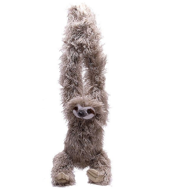 Hanging Sloth Stuffed Animal Plush with Velcro Hands (20