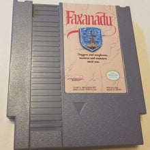 NES Faxanadu Carridge, Case and Manual