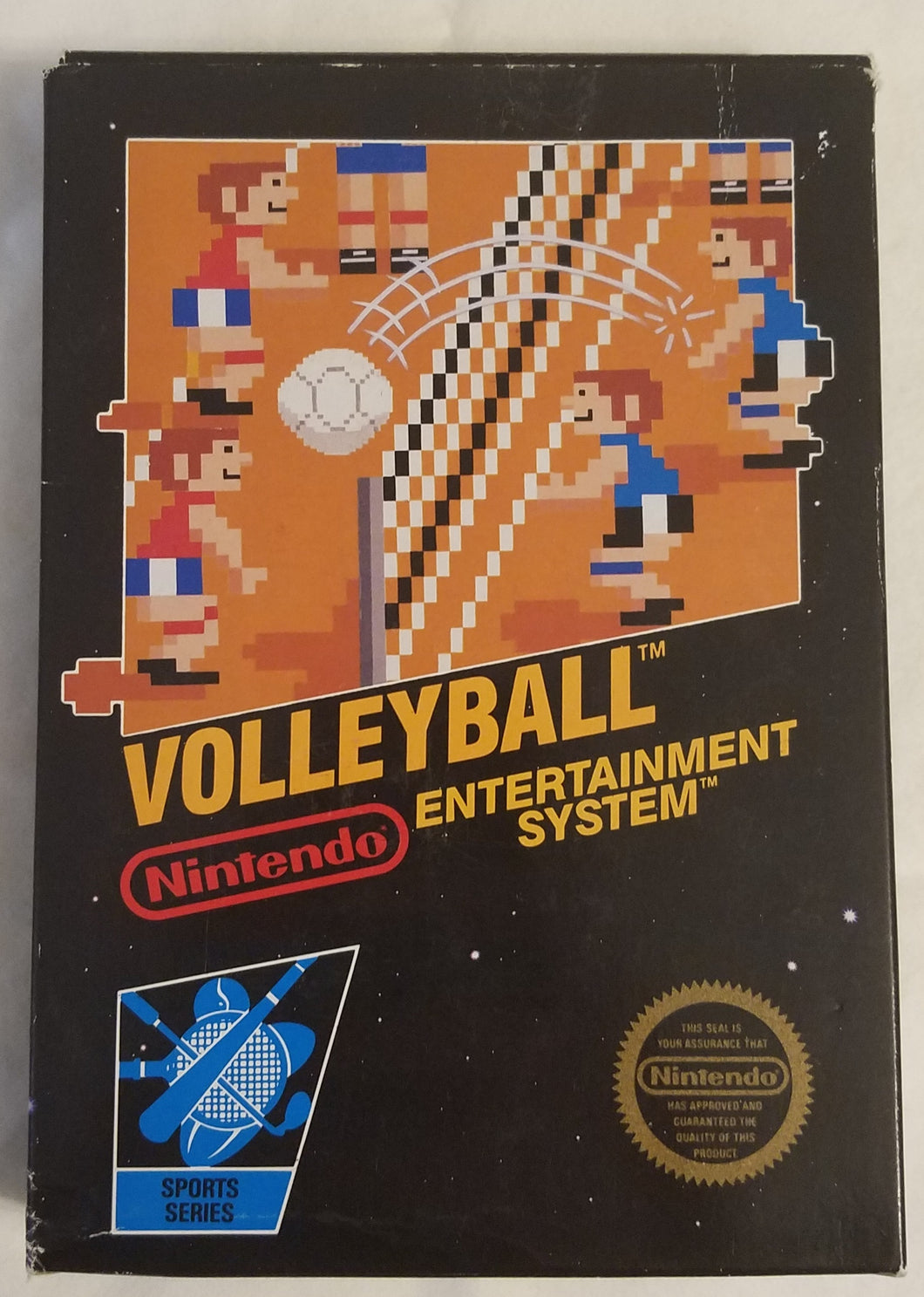 NES Volleyball Complete in Box