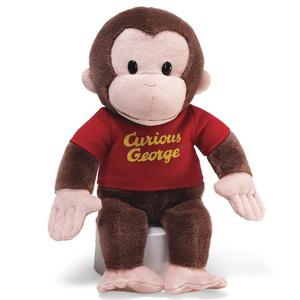 "GUND Curious George, 12"" Plush Stuffed Animal"
