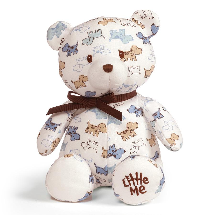 GUND Little Me Puppy Pattern Teddy Bear, 10
