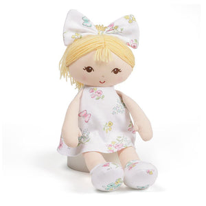 "GUND Little Me Blonde Doll, 13"" Plush"