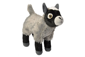 "Mini Pygmy Goat Stuffed Animal Plush Cuddlekin by Wild Republic (8"" Height)"