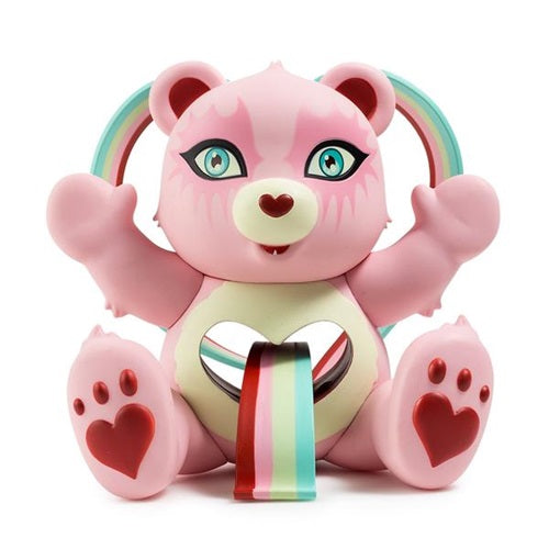 Care Bears Tender Heart by Tara McPherson Vinyl Figure (PINK VARIANT)
