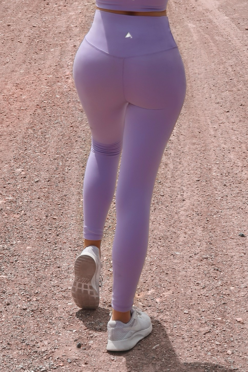 Wanderlust Purple Lily Leggings