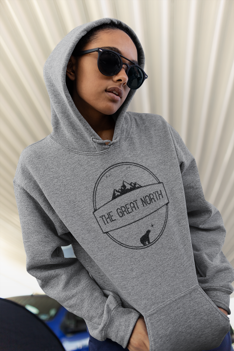 Canadian Crafted Grey Hoodie (Unisex)