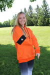 Fox Hoodie Orange