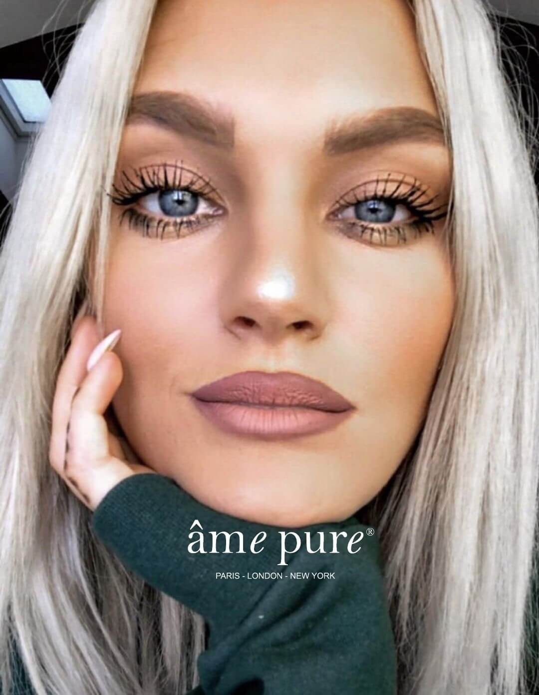 Lisa before after âme pure Lash Growth serum