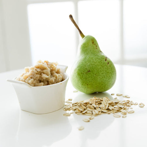Roast Pear Oats with Dates and Clove