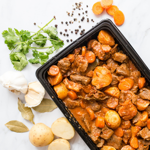 Slow Cooked Hearty Beef Stew with Carrots and Baby Potatoes 1kg