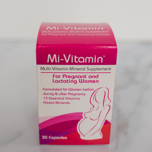 Multi-Vitamin Mineral Supplement for pregnant and lactating women