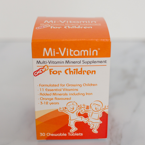 Multi-Vitamin Mineral Supplement for children (3-12 Years)