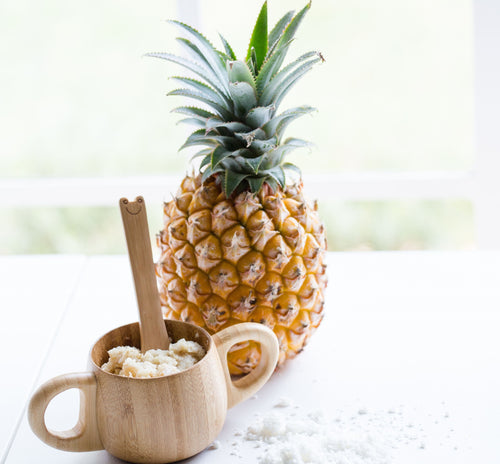 Tropical Oats with Toasted Coconut