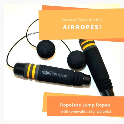 Airropes with removable 1lb. weight