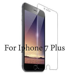 Protective Glass Cover For iPhone Models