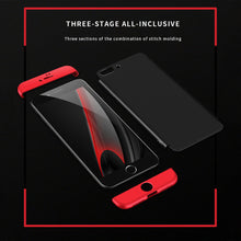 360 Case 3 in 1 Knight Armor Phone Cases For iphone 6 6s Plus Case Ultra thin Fashion Shock proof Phone Cover Matte Cases Fundas