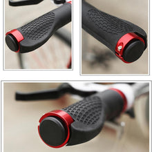 1pair Antiskid Bike Handle Grips Ergonomic Rubber Mountain Bike Handlebar Grips Bicycle Accessories #E0