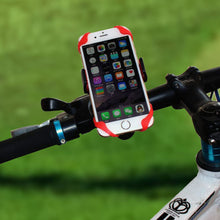 Robotsky Universal Phone Holder For iPhone 6 Samsung Galaxy S8 Bike Bicycle Cellphone Cradle Handlebar Clip Stand Mount Bracket