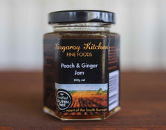 Peach and Ginger Jam